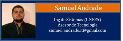 Tarjeta Andrade Samuel