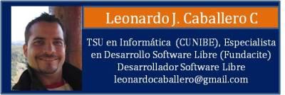 Tarjeta Caballero Leonardo