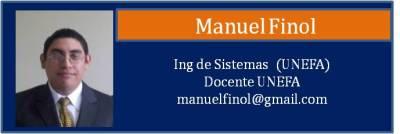Tarjeta Finol Manuel