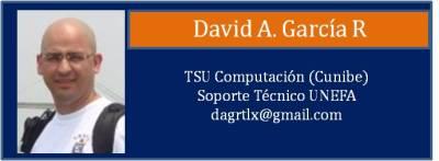 Tarjeta Garcia David