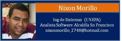 Tarjeta Morillo Nixon