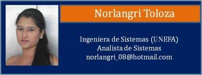 Tarjeta Toloza Norlangri